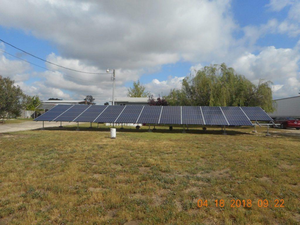 agricultural solar system Lemoore Station