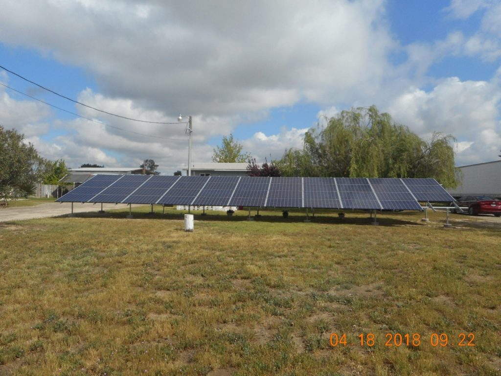 agricultural solar system Tarpey Village