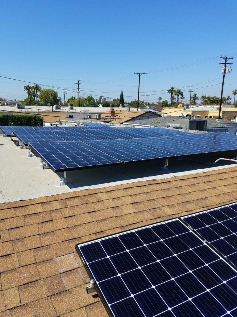 Shafter solar