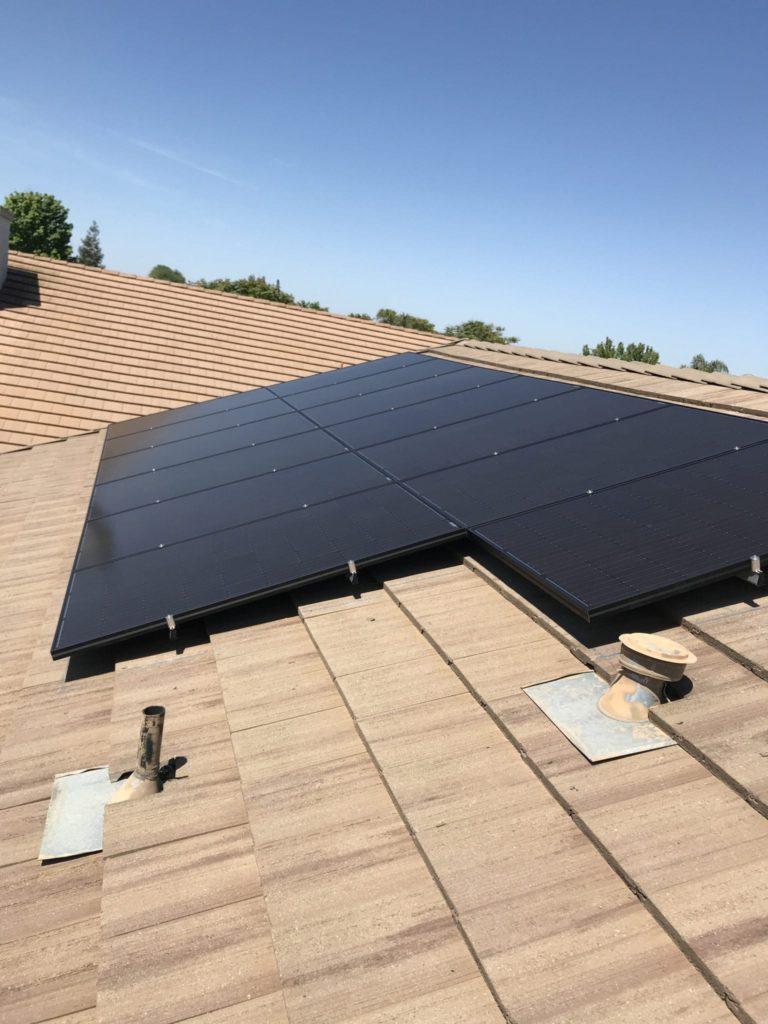 solar panel price Gustine