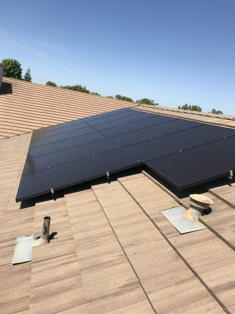 solar panel price Hanford