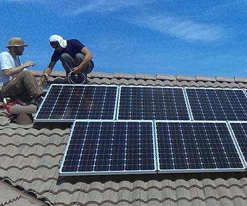 Solar panels for home Lemoore Station