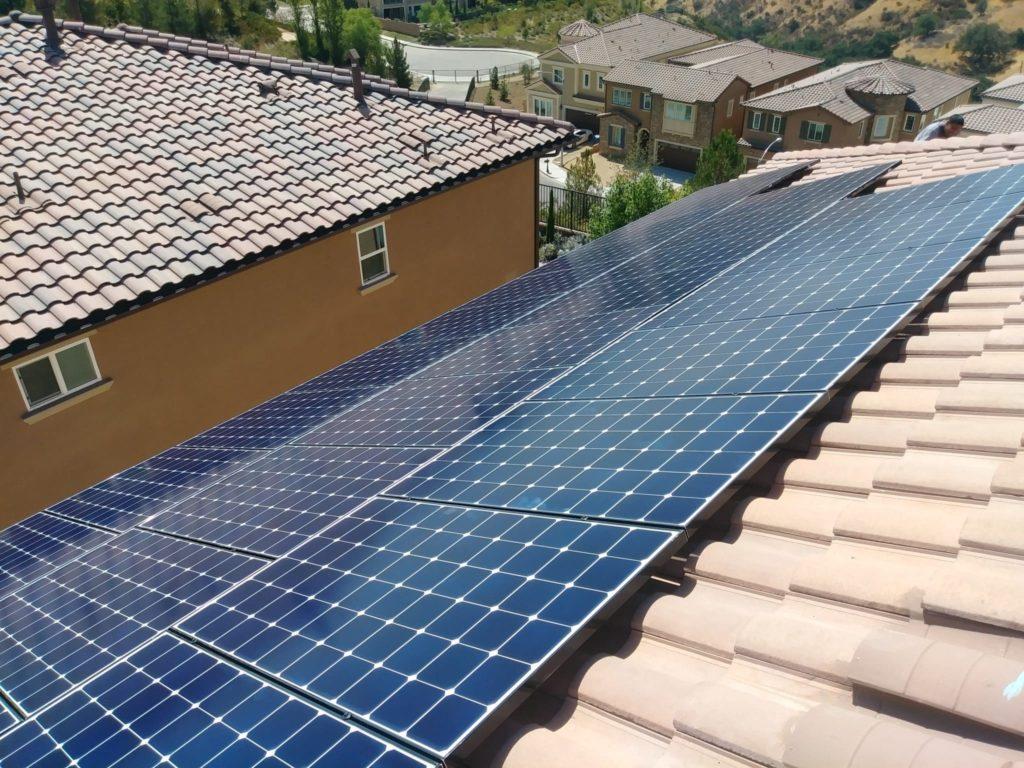 solar roof Mojave